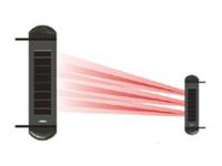 太阳能无线三光束对射